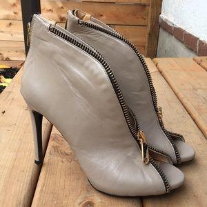 Giuseppe Zanotti Leather Booties Size 40